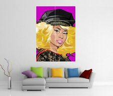 NICKI MINAJ POP ART PINK FRIDAY RELOADED BARBIE GIANT WALL PRINT POSTER H182