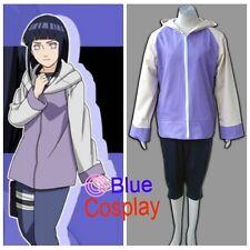Naruto Anime cosplay Hyuga Hinata Costume Uniform Halloween Bl