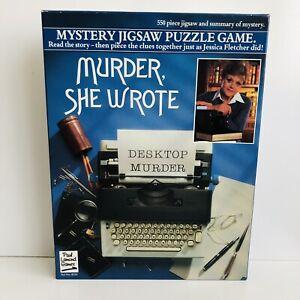 Murder She Wrote Desktop Murder Vintage Jigsaw Puzzle