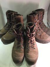 HAIX Combat Desert High Liability Grade 2 British Army Boots Brown Male Cadet