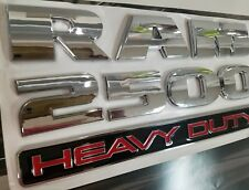 CHROME RAM2500 FENDER DOOR BADGE EMBLEM FOR DODGE 2011 2012 2013 2014 2015 16 17