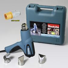 Makita HG5012K 110v 350/500 degrees C heat gun hot air 3 year warranty option