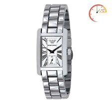 Neues AngebotEmporio Armani ar0146 Classic Damen Armbanduhr Chronograph Zifferblatt Silber Ton