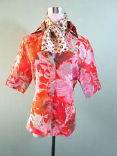 Unbranded Linen Floral Coats & Jackets for Women