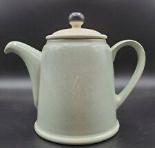 "Denby ""ENERGY"" Teapot Celadon Green & Cream"