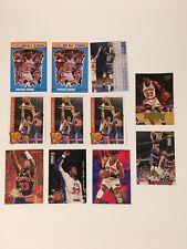 1990-91 FLEER #12 PATRICK EWING NBA NEW YORK KNICKS LOT OF 11