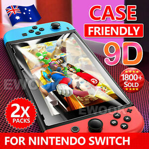 2 X EWOOK Nintendo Switch Screen Protector Tempered Glass for Nintendo Switch