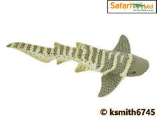 Safari ZEBRA SHARK solid plastic toy wild FISH sea marine animal * NEW *💥