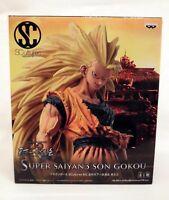 Dragon Ball Z S.SAIYAN 3 SON GOKU SCultures Figure Colosseum Vol.3 Banpresto NEW