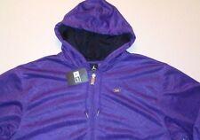 Jordan AF-1 retro 6 vi GRAPE PURPLE full zip hoodie hoody JACKET MENS XL $90