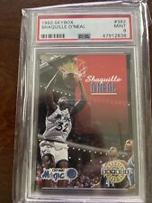 New listing 1992-1993 Skybox Shaquille O'Neal #382 Rookie PSA 9 MINT RC Shaq