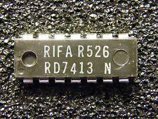 5x rd7413n DUAL 4-Input NAND Schmitt Trigger, rifa