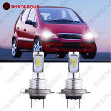 Für MERCEDES-BENZ A-Klasse W168 Xenon LED Look Abblendlicht Lampen H7 In Vision