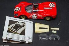 1/24 Spyder resin conversion kit for Fujimi Ferrari 330 P4 Lemans Sportscar GT