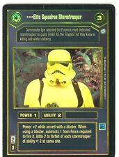 Star Wars CCG Endor Foil Elite Squadron Stormtrooper