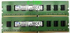 8GB Samsung DDR4-2133  Kit 2 x 4GB M378A5143DB0-CPB PC4-2133P RAM 288PIN DIMM