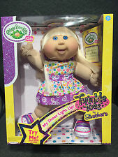 NEW Sketchers Cabbage Patch Kids doll toy CPK Light-up Twinkle Toes Shoes BLONDE