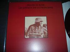 Death in June/Les Joyaux de la Princesse Ostenbraun Ltd Brown vinyl with Inserts