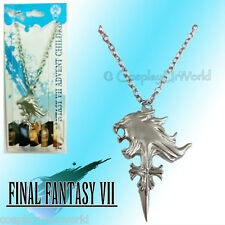 Final Fantasy Cloud Buster Strife Wolf Emblem Pendant Charm Necklace Cosplay New