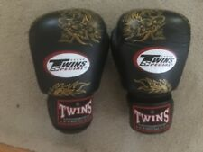 Twins MMA / Muay Thai / Boxing Gloves - 16 oz - Golden Dragons