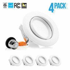 "4-12 x PARMIDA 4"" 10W LED Retrofit Gimbal Downlight Recessed Dimmable Light ETL"
