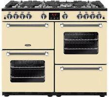 BELLING Kensington 100G 100 cm Gas Range Cooker Cream SAC-2477