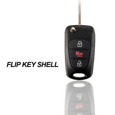 3-Button Remote Flips Folding Key Case Fob Shell For KIA Soul Rondo Sportage Rio