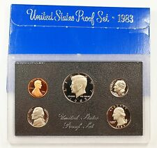 1983 US Mint Proof Set 5 Gem Coins as Issued