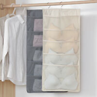 15/24/30 Pockets Storage Bag Socks Bra Underwear Rack Hanger Storage Organizer