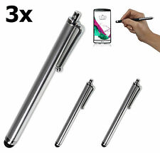 3x Touch Pen Eingabestift Display Stift LG G2 G3 G4 G5 K10 K4 K7 V10 Class G4s