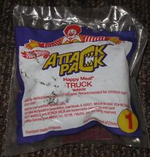 1994 Hot Wheels McDonalds Happy Meal Toy Car - Attack Pack Truck #1