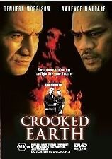 Crooked Earth -Temuera morrison & Lawrence Makoare DVD Free Post
