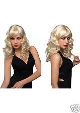 Sexy Aubrey Women's Wig Platinum Blonde - Human Like Hair - Pleasure Wigs