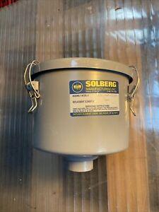 "SOLBERG CSL-849-125HC Vacuum Filter 1.25"" 1 1/4"" 5 Micron Lightly Used"