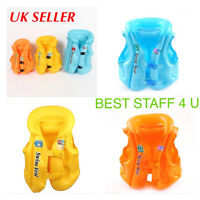 Kids Children Inflatable Swimming Pool Toy Float Training Vest Aid Jacket 04