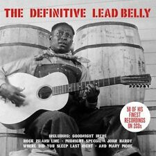 2 CD BOX THE DEFINITIVE LEAD BELLY MIDNIGHT SPECIAL GOODNIGHT IRENE JOHN HARDY