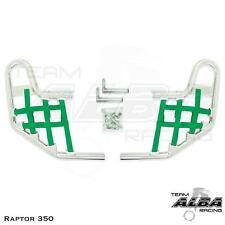 Yamaha  Raptor 350   Nerf Bars   Alba Racing    Silver Green 209 T1 SG