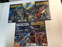 Battlestar Galactica (1997) #1 2 3 4 5 1-5 (VF/NM) Complete Set Realm Press