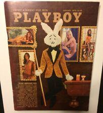 Like New! Playboy Magazine- January 1972- Marilyn Cole, Clockwork Orange