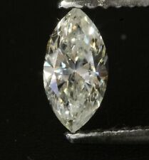 natural EGL Certified loose clarity enhanced .62ct SI2 J Marquise fancy diamond