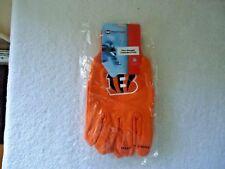 "McArthur "" NWT "" NFL "" Cincinnati Bengals "" Sport Utility Gloves "" GREAT PAIR """