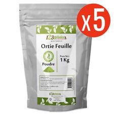 Ortie feuille - 5 Kg de poudre