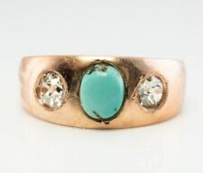 Rose Gold Victorian Antique Fine Rings 1837 - 1901