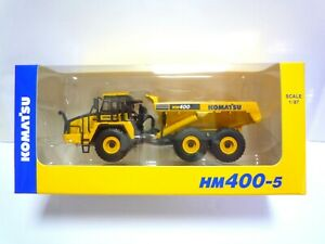 Komatsu Official Diecast Model Articulated Dump Truck HM400-5 / Japan Exclusive