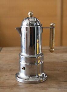 Vintage Vev Vigano Kontessa Stovetop Espresso Coffee Maker 18/10  Italy