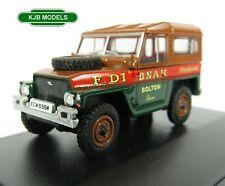 BNIB OO GAUGE OXFORD 1:76 76LRL006 Land Rover Lightweight Hard Top Fred Dibnah