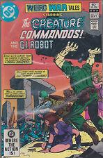 DC comics book WEIRD WAR TALES ft THE CREATURE COMMANDOS # 115 sept 1982  [ A3 ]