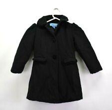Copper Key Kids Girls Size 4/5 Wool Blend Long Sleeve Button Up Fall/Winter Coat