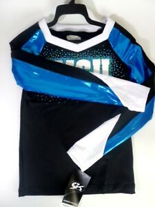 Authentic Allstar Cheerleading Top Outfit Sexy Halloween Costume Small RRP:£65