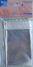 Selbstklebende Tüten Beutel 6x8cm 30St Tütchen Plastikhüllen JoyCrafts 8001/0308